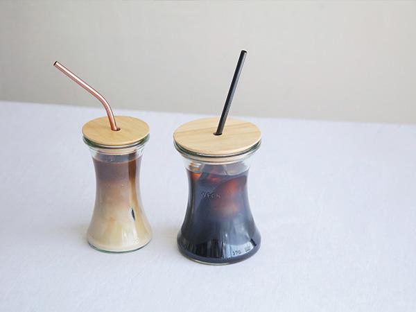 ドリンク ボトル デリカ テッセン180ml WW-S108 DRINK BOTTLE DELIKATESSEN WECK ウェック ガラス コップ タンブラー 保存容器 かわいい 入れ物  おしゃれ シンプル いちご