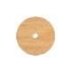 weck 木蓋 フラット トップ 蓋 木のフタ 穴あき S サイズ 木製 WECK シリコン パッキン付 メール便 対応 ウェック 穴付き かわいい FLAT TOP WOODEN LID WW-024S