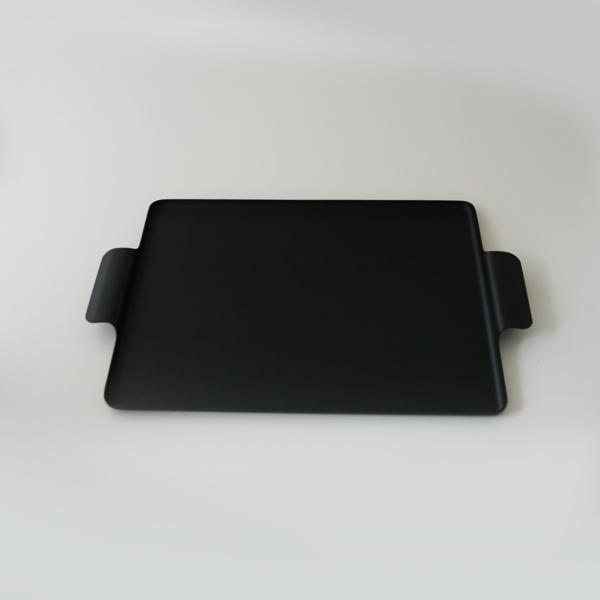 ケイメットトレー トレイ おしゃれ No.511 ブラック KAYMET ケイメット アルミトレイ 物入れ 小物 収納 鍵置き シンプル アルミ 使いやすい 黒