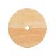 weck 木蓋 フラット トップ 蓋 木のフタ 穴あき M サイズ 木製 WECK シリコン パッキン付 メール便 対応 ウェック 穴付き かわいい FLAT TOP WOODEN LID WW 024M