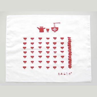ふきん 食器 かわいい おしゃれ 盛岡ふきん3枚 セット こしぇる工房 プレゼント メール便 対応 布巾 お土産 ギフト 岩手 東北 お土産 南部鉄器 わんこそば