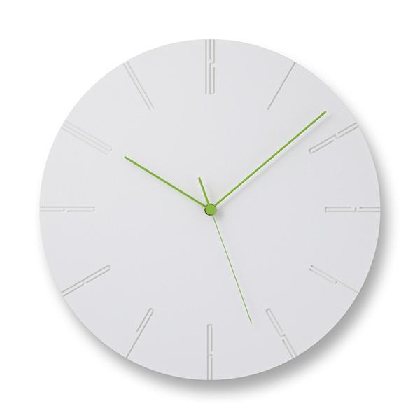 レムノス 掛け時計 時計 Lemnos カーヴドツー CARVED II おしゃれ シンプル NTL13-10 ホワイト ブラック プレゼント ギフト 置き時計 静か 送料無料 寺田尚樹
