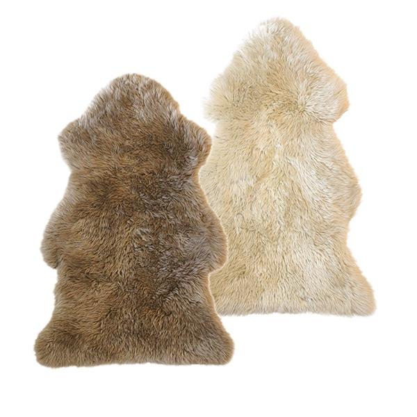 シープスキン 115×75cm Natures Collection 天然 羊毛 sheep skin ひつじ 毛皮 北欧 ムートン おしゃれ イス ソファ 座面 カバー