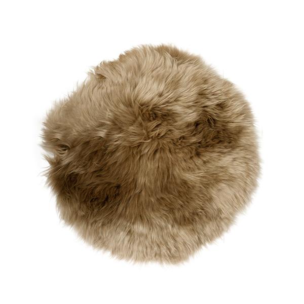 シープスキン シートパッド 38cm Natures Collection 天然 羊毛 sheep skin ひつじ 毛皮 北欧 ムートン おしゃれ イス カバー クッション