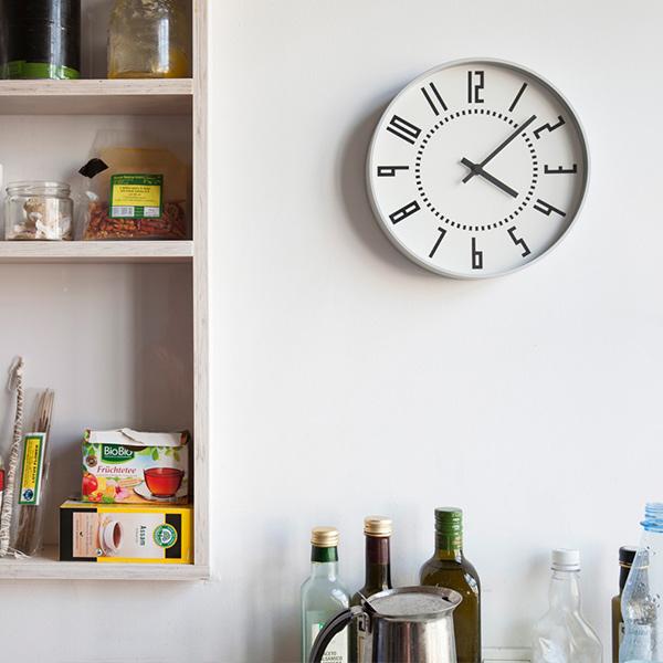 レムノス 掛け時計 時計 エキ クロック eki clock おしゃれ 送料無料 かわいい シンプル TIL16-01 ホワイト ブラック プレゼント ギフト 置き時計 五十嵐威暢