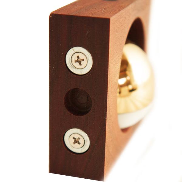 ドアベル ドアチャイム もりのね メイプル 丸 小泉製作所 小泉屋 KOIZUMIYA おしゃれ 音 真鍮 ドア ベル チャイム 両面テープ
