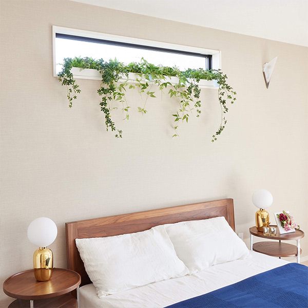 シュガーバイン 棚上 掛置 兼用 人工 観葉植物 フェイク グリーン おしゃれ GREENPARK グリーンパーク 造花 PRGR-1322 ウォールグリーン テーブルグリーン 白