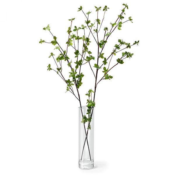 フェイクグリーン ドウダンツツジ フェイクウォーター 卓上 造花 観葉植物 フロアグリーン グリーンパーク 植物 葉 ギフト 枝 H100cm GREENPARK PRGR-1104