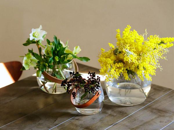 ホルムガード ボウル クリア HOLMEGAARD ポット クリア H12cm フラワーベース 花瓶 小物入 ガラス デンマーク 北欧 雑貨 おしゃれ