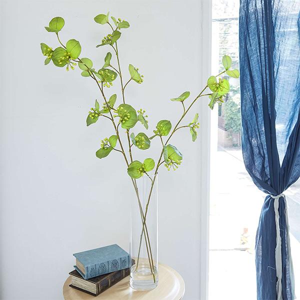 フェイクグリーンサンキライ フェイクウォーター 卓上 造花 人工 観葉植物 フロアグリーン グリーンパーク 植物 葉 ギフト 枝 H95cm GREENPARK PRGR-1138