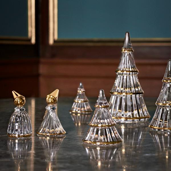 クリスマス ツリー XL 19cm ホルムガード ゴールド ガラス 飾り テーブル オーナメント おしゃれ オブジェ HOLMEGAARD FAIRYTALES 4800403