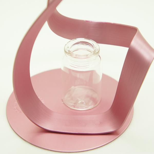花瓶 おしゃれ 一輪挿し フラワーベース 花器 ツイスト L TWIST アルアート カラー シンプル 軽量 アルミニウム 日本製 かわいい ギフト プレゼント 植物