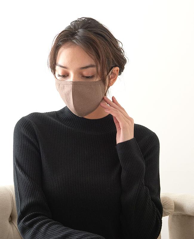 ネックストラップマスク リネン