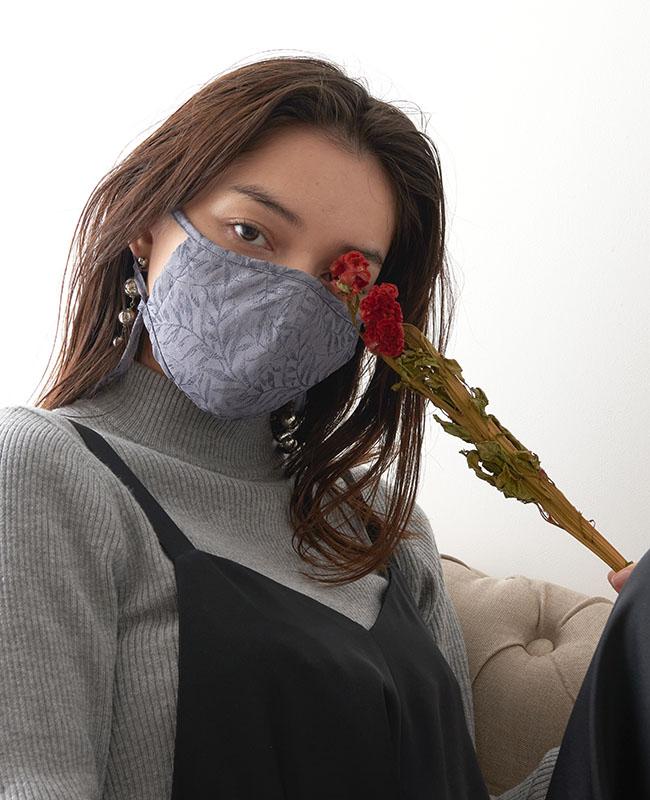 ネックストラップマスク リーフ