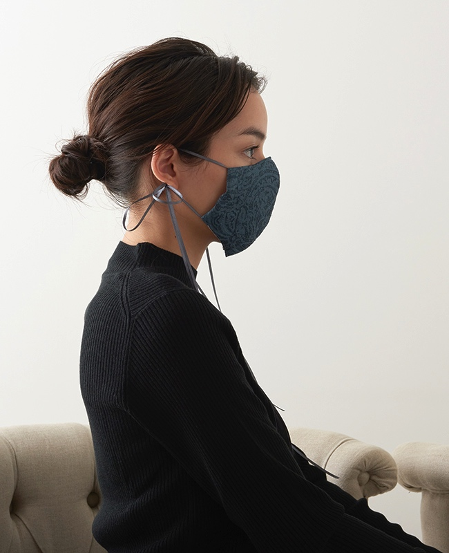 メイクアップマスク ジャガード