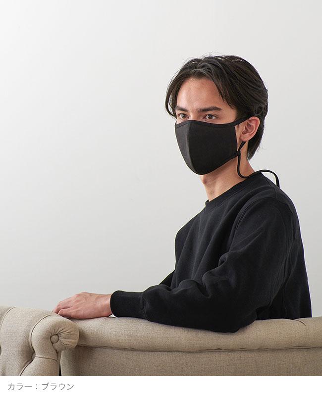 ネックストラップマスク 【shiny check】