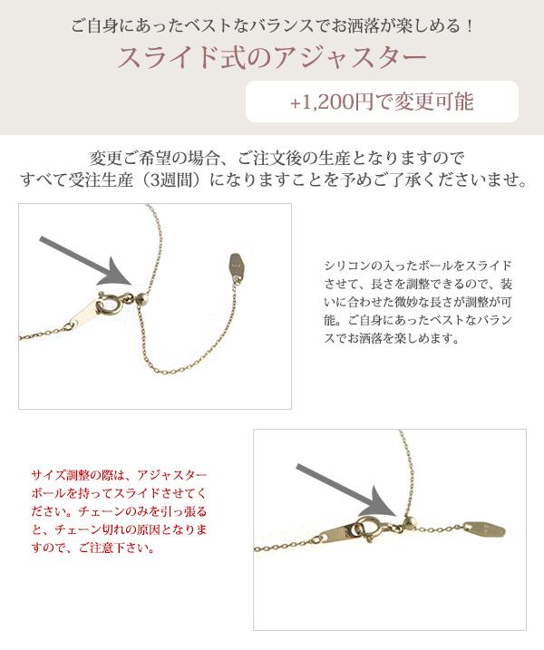 【送料無料】K10ダイヤモンド3粒ラインネックレス【リュクス】LC-41【ネコポス不可】