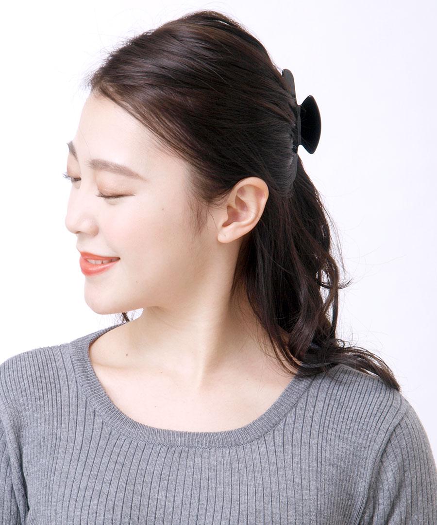 ★限定SALE★べっ甲風バンスクリップ (L) H7074 【ネコポス不可】
