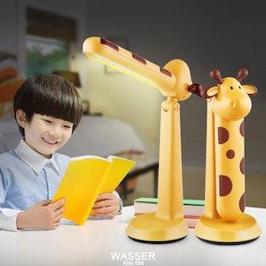デスクライト LED 子供 キッズ 学習机 学習用 目に優しい wasser かわいい 電気スタンド キッズライト ledデスクライト 無段階調光 読書灯 照明 間接照明 卓上 寝室 子供部屋 小学校 入園 誕生日 入学祝 プレゼント