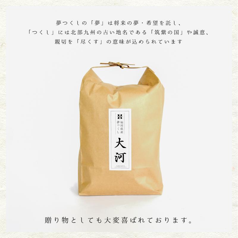 送料無料 新米 30kg 特A 夢つくし 精米 5kgx6 紙袋 ギフト お祝い 令和元年 白米 福岡産 日本産 柔らかい しっとり