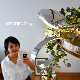【送料無料】シャンデリアライト LED 4灯 調光 リモコン付 昼光色 電球色 小鳥 シーリングライト 天井照明 aircorno おしゃれ シンプル 北欧 リビング ダイニング デザイン