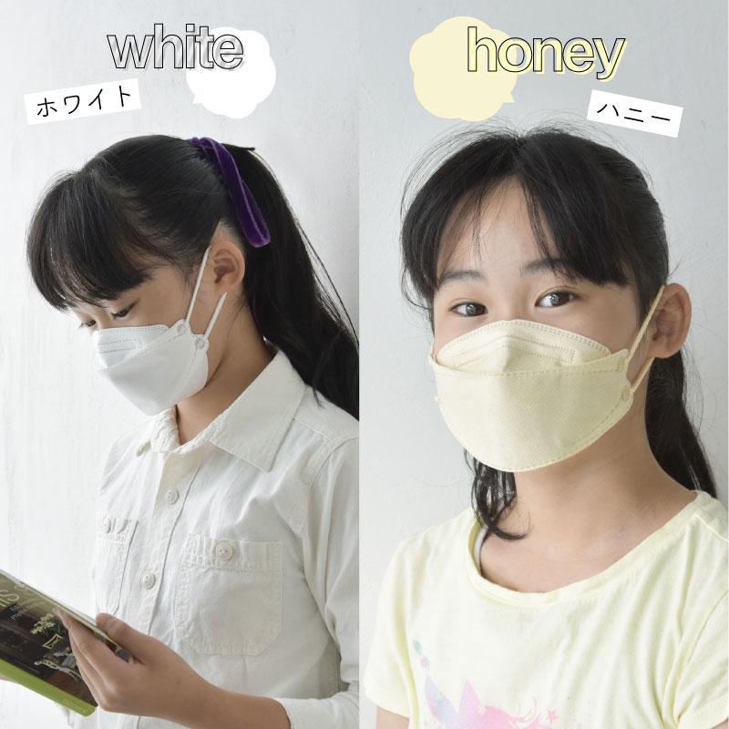 血色マスク 不織布 子供 マスク工業会正会員 3Dマスク 立体マスク キッズ KF94以上 60枚 血色カラー 不織布マスク カラー 使い捨てマスク 4層構造 小顔 韓国マスク 通気性快適 カラーマスク 夏用マスク 子供用マスク オシャレ