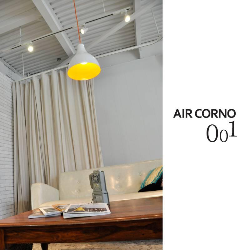 エアコルノ001 ペンダントライト ホーロー 4畳 6畳 LED電球 ペンダントランプ 間接照明 照明器具 ペンダント 天井照明 照明 レトロ モダン おしゃれ 北欧 シンプル ダイニング用 食卓用 リビング用 居間用 ライト