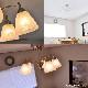 エアコルノ007,シャンデリア,照明,ガラス,おしゃれ,アンティーク,北欧,ダイニング用,食卓用,リビング用,居間用,寝室,シーリングライト,5灯,6畳,LED電球対応,天井照明,間接照明