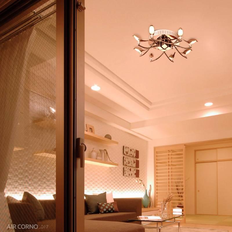 エアコルノ017 シーリングライト リモコン付 8灯 LED シャンデリア 照明 おしゃれ 北欧 洋風シーリングライト 8畳 10畳 天井照明 間接照明 照明器具 キッチン用 ダイニング用 食卓用 リビング用 居間用 寝室