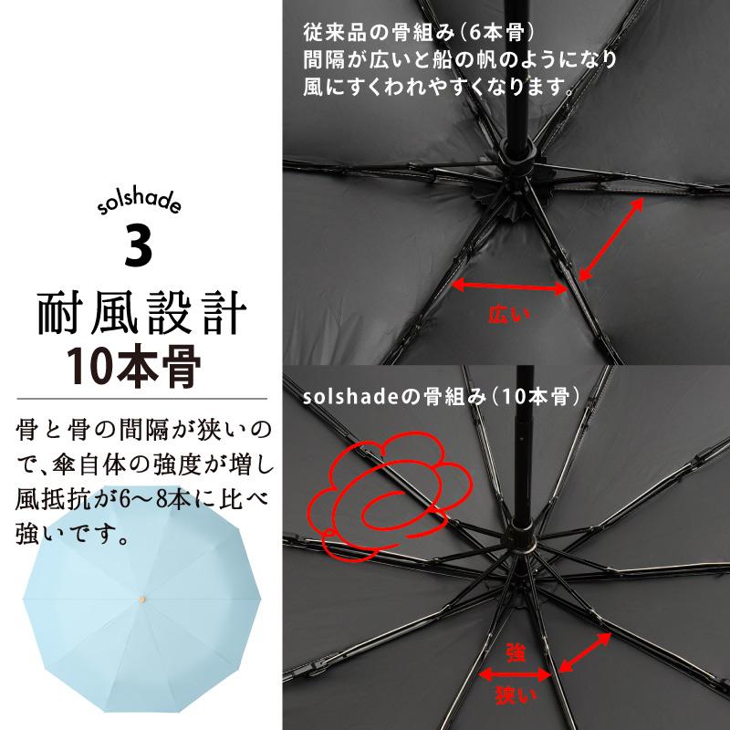 完全遮光 遮光率100% UV遮蔽率99.9%以上 日傘 折りたたみ 10本骨 軽量 晴雨兼用 折りたたみ日傘 折り畳み 傘 耐風 丈夫 かわいい レディース ギフト プレゼント 雨傘 日傘兼用 暑さ対策 熱中症対策 紫外線カット UVカット ピンク ブルー ベージュ