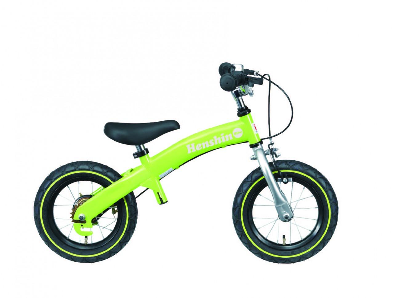 へんしんバイク 黄緑