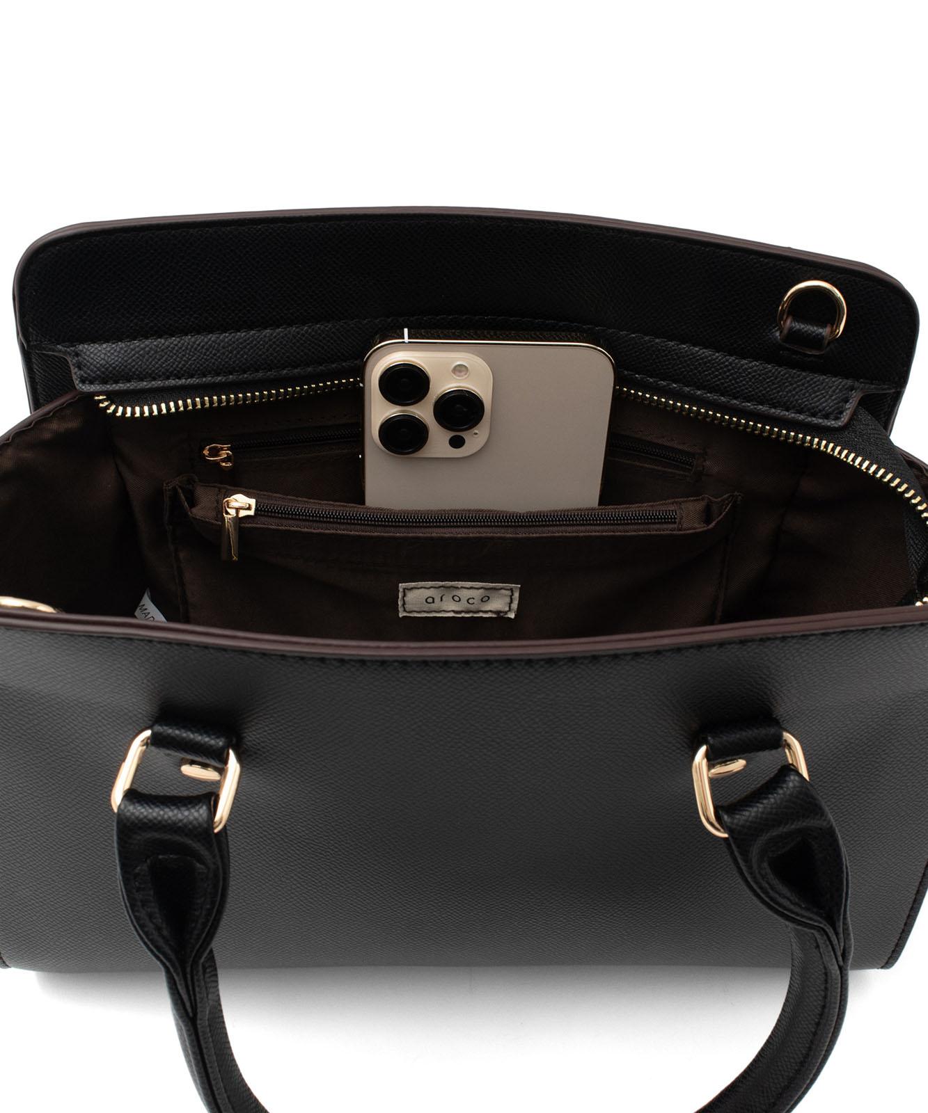 牛革2wayハンドバッグ