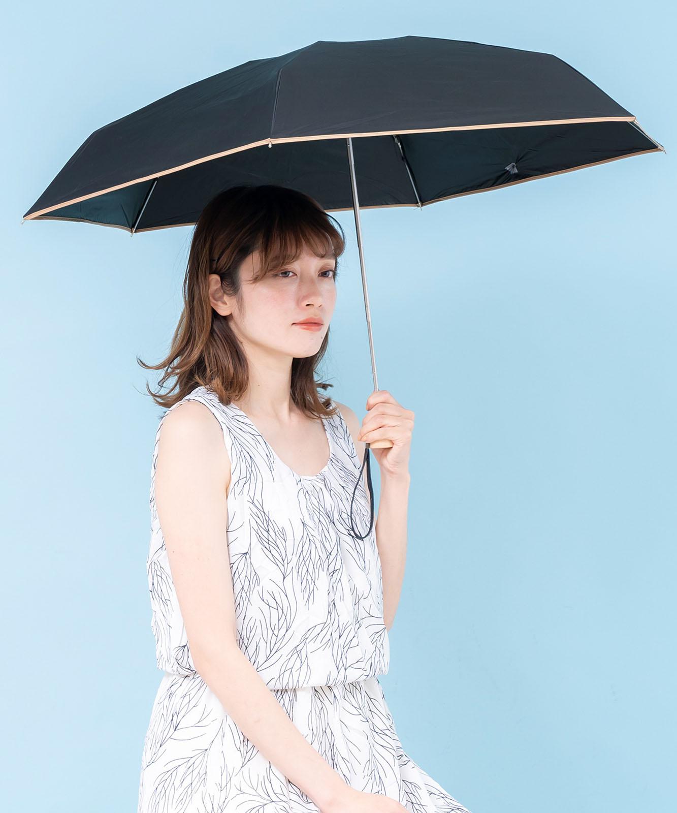 5段ミニ折りたたみ傘(マイクロ傘/パイピング)