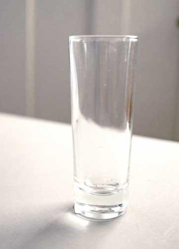 ガラス花瓶円筒SS