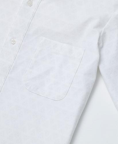 冷却半袖ボタンダウンシャツ / WHT(S〜XL)