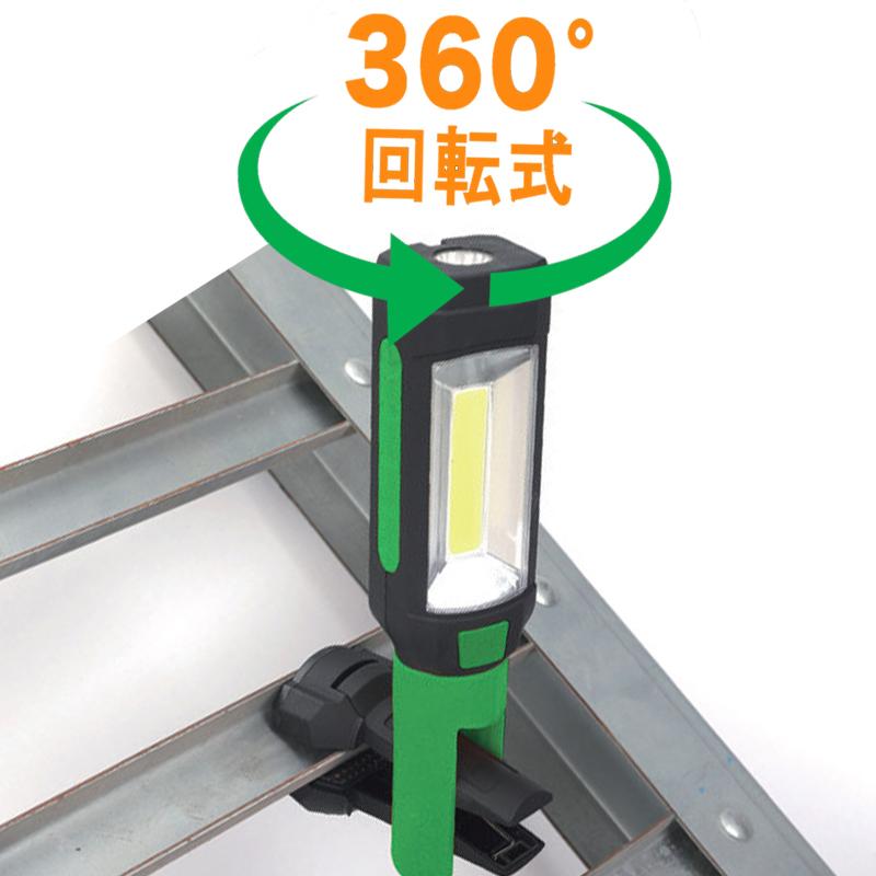 ●LEDワークライト クランプ型