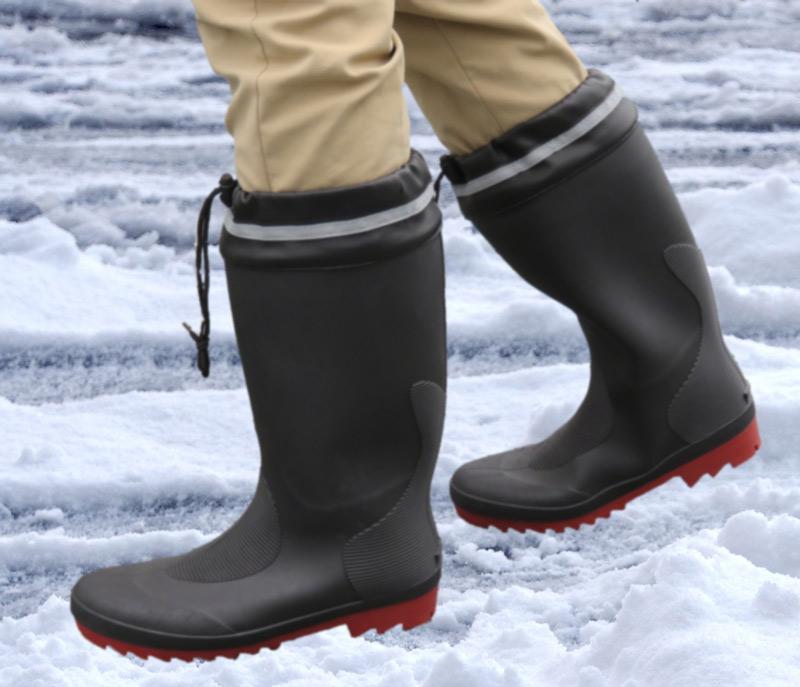 ●軽くて耐滑にすぐれた長靴 ブラック