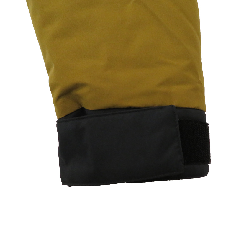 【11月中旬入荷予定】●防水防風ヒーター内蔵ジャケット マスタードイエロー