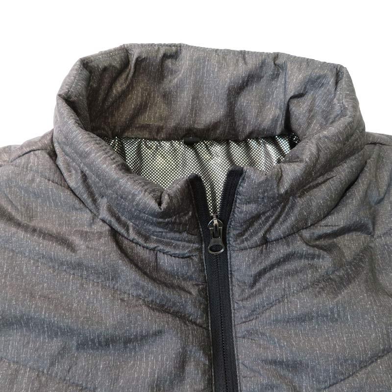 ●ヒーター内蔵ジャケット グレー