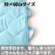 ●接触冷感洗えるペット用敷布 ブルー