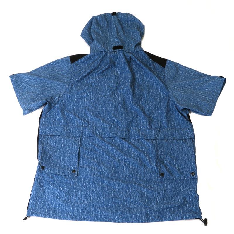 ●破れにくい生地を使った空調ウェア 半袖 ブルー