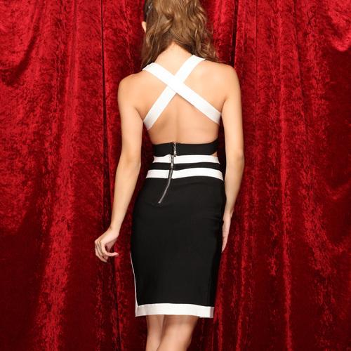 キャミソールとスカートのセットアップバンテージミニドレス