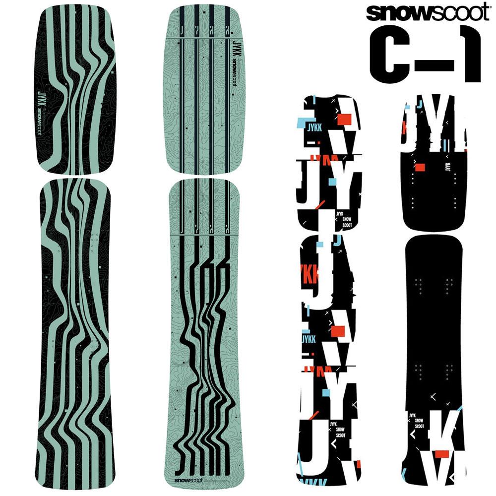 スノースクート SNOWSCOOT C-1 Board シーワン ボード 交換 カスタム パーツ 板 ウィンタースポーツ ジックジャパン JykK Japan
