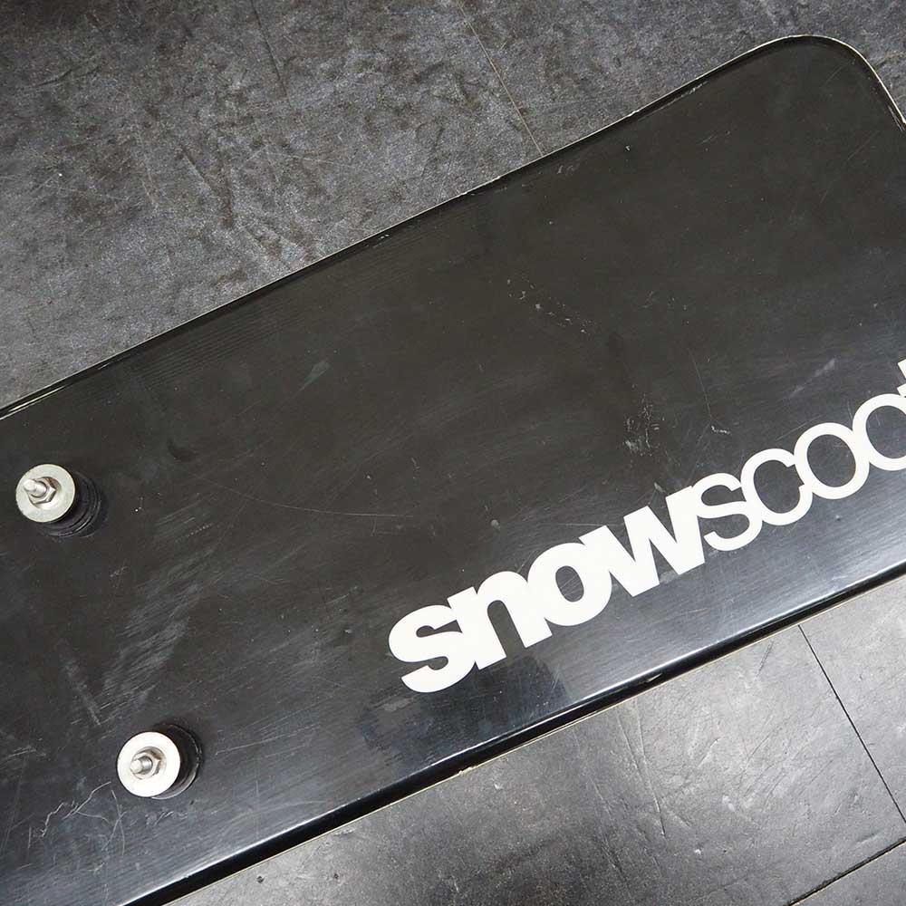 【USED品】 スノースクート SNOWSCOOT 機能重視のエントリーモデル ONE-D ワンディ ウィンタースポーツ ジックジャパン JykK Japan パープル