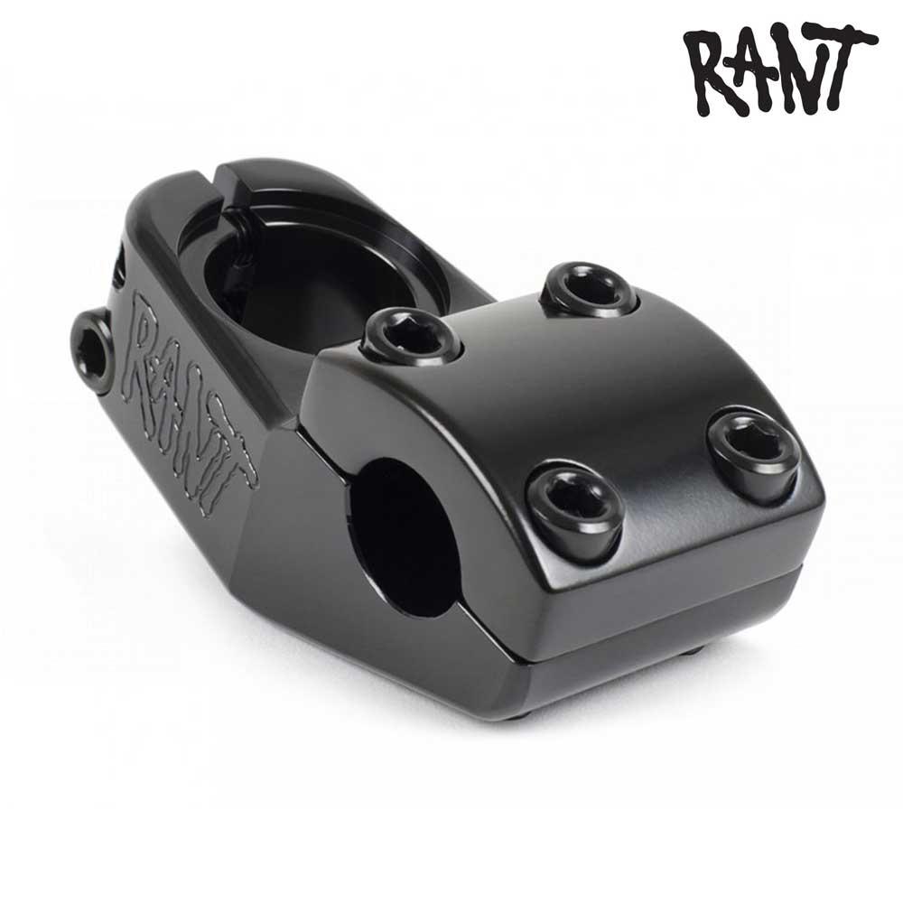 ステム RANT ラント Trill Top Load Stem Black BMX 自転車 ストリート スノースクート カスタム パーツ ハンドル バー 交換 ブラック