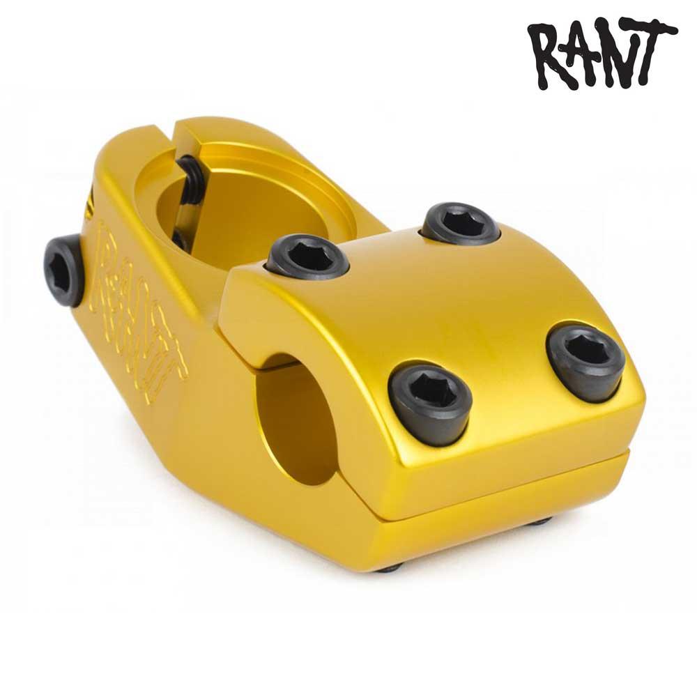 ステム RANT ラント Trill Top Load Stem Matte Gold BMX 自転車 ストリート スノースクート カスタム パーツ ハンドル バー 交換 ゴールド