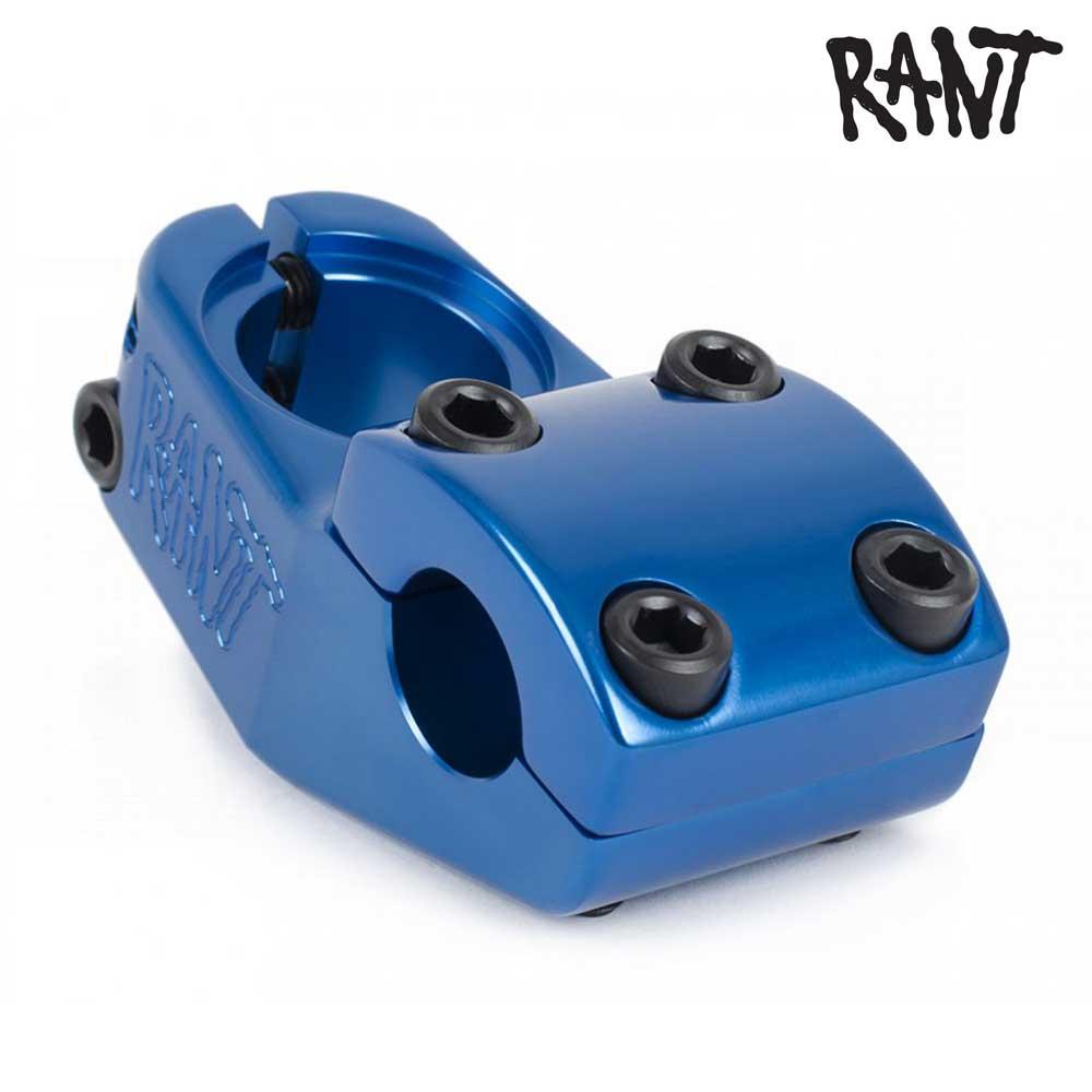 ステム RANT ラント Trill Top Load Stem Blue BMX 自転車 ストリート スノースクート カスタム パーツ ハンドル バー 交換 ブルー