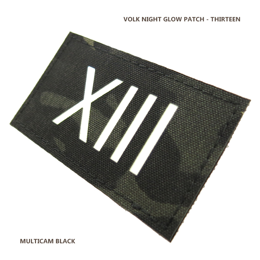 NIGHT GLOW PATCH / THIRTEEN / MC BLACK