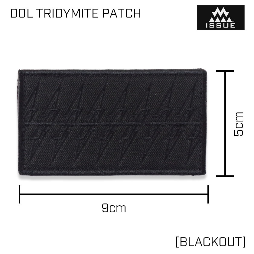 DOL TRIDYMITE PATCH トリジマイト パッチ [BLACKOUT]