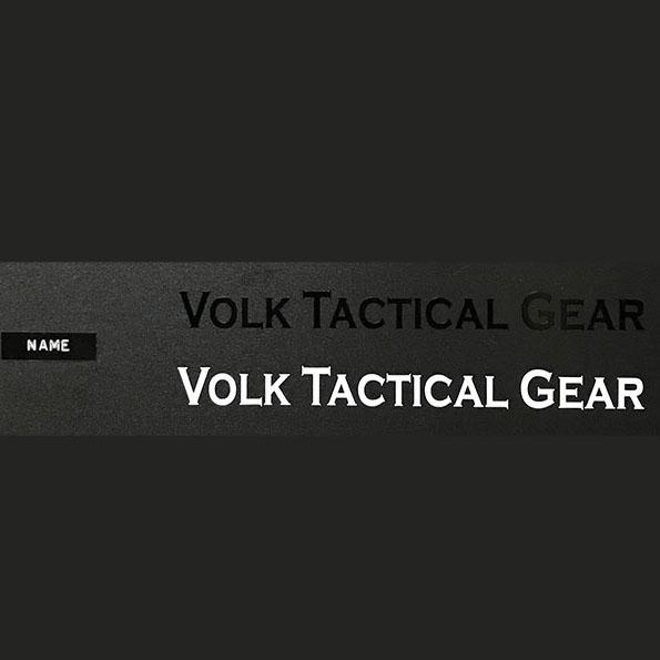 VOLK CUTTING STICKER - NAME